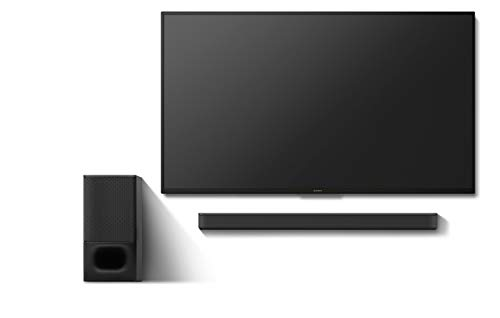 Sony HT-S350 Soundbar with Wireless Subwoofer: S350 2.1ch Sound Bar and Powerful Subwoofer - Home Theater Surround Sound Speaker System for TV - Blutooth and HDMI Arc Compatible Bar