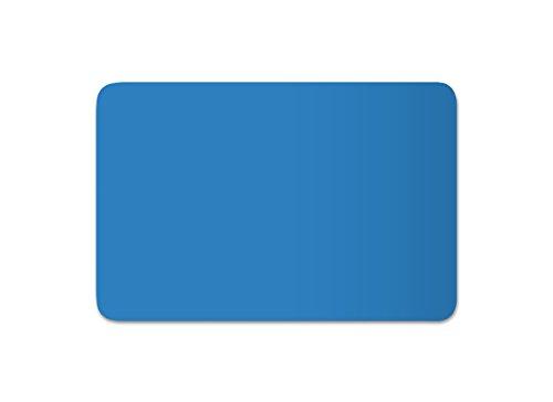 Anhänger Planen Reparatur Pflaster | in vielen Farben erhältlich | 30cm x 20cm | SELBSTKLEBEND | Speed Repair | RAL 5012 lichtblau