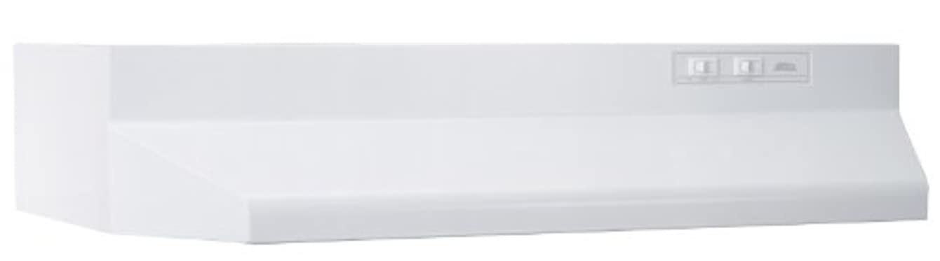 Broan 403601 ADA Capable Under-Cabinet Range Hood, 160 CFM 36-Inch, White