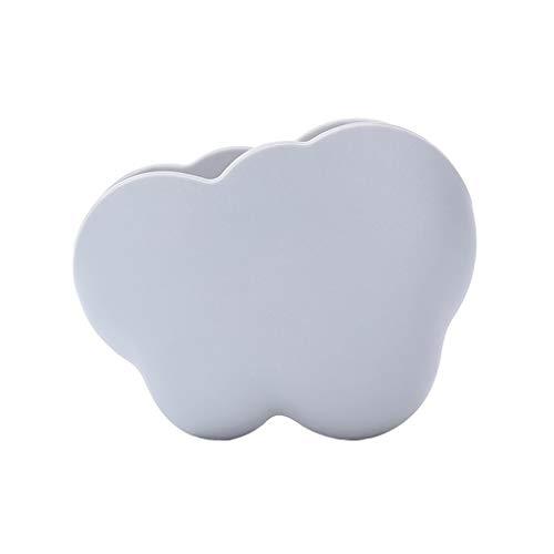 UKtrade Sweet Home Decor - Mensola da parete a forma di nuvola, colore: grigio