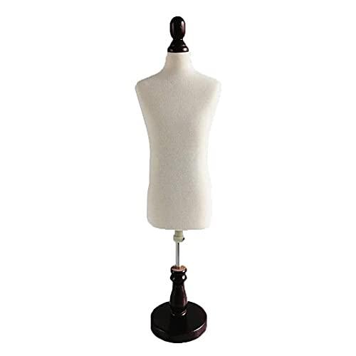 HAO KEAI Maniqui Costura Taileras Femeninas Dummy Small Drodmakers Masculino, 1: 2 Escala Ajustable Altura, Sastre Manikins Mini Doll Vestido de muñecas Display Accesorios Decoración Maniquí Femenino