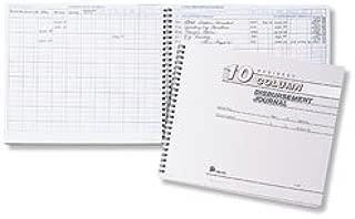 EGP Disbursement Journal - 10 Column, 9 15/16