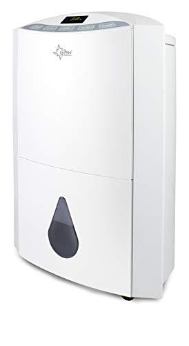 SUNTEC Luftentfeuchter Dryfix 20 Design – für Räume bis 150 M³ ( 63 m2 ) | Raumentfeuchter mit 20 l / Tag Entfeuchtung | Entfeuchter elektrisch inkl Luftreiniger Funktion + mobile Wäschetrocknung