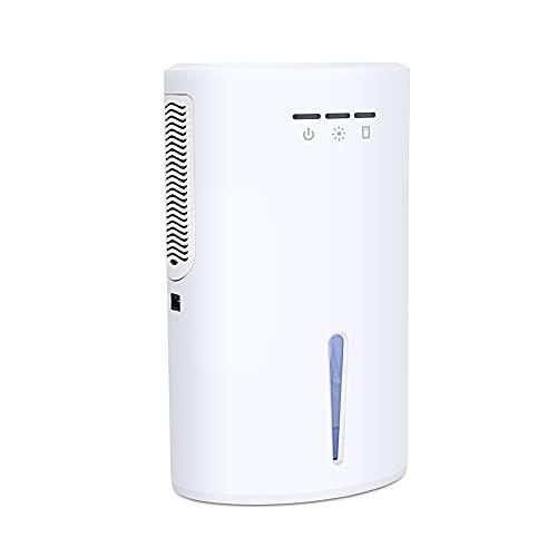 HYYYH Deshumidificador Purificador de Aire portátil para el hogar, la Cocina, el Dormitorio, el baño, la Caravana, etc. (Color : White, Size : 337 * 208 * 150mm)