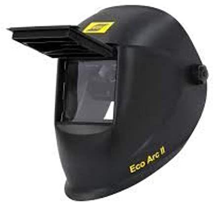 ESAB Eco ARC II, Casco de Soldadura abatible, 110 x 90 mm, máscara