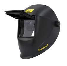 ESAB Eco Arc II Casco de soldadura abatible, 110 x 90 mm, máscara de soldadura, TIG, MIG, MMA