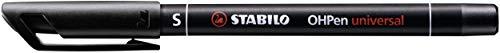 Folienstift - STABILO OHPen universal - permanent superfein - Einzelstift - schwarz