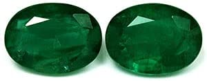 Max 48% OFF GemsNY GIA Certified 8.65 cttw. Oval Pai Emerald Matched Natural Now free shipping