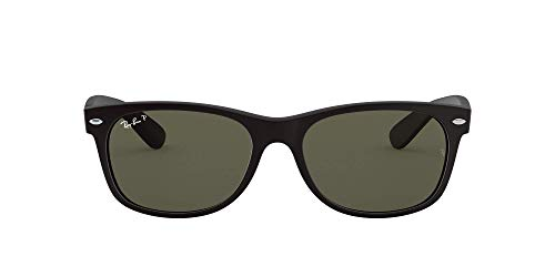 Ray Ban Unisex Sonnenbrille New Wayfarer Polarized, Gr. 55mm (RB 2132 55 622/58)