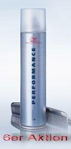 Wella Performance Haarspray Set 6 x 500ml