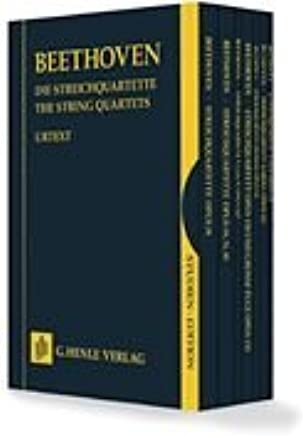 The String Quartets-Complete 7 Volumes In A Slipcase Study Score
