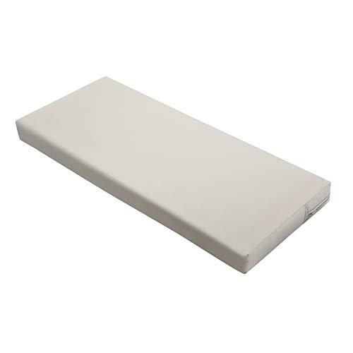 Classic Accessories Ravenna Water-Resistant 48 x 18 x 3 Inch Patio Bench/Settee Cushion, Mushroom