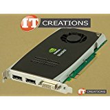 DELL P418M NVIDIA QUADRO FX 1800 768MB GDDR3 PCI-E VIDEO CARD