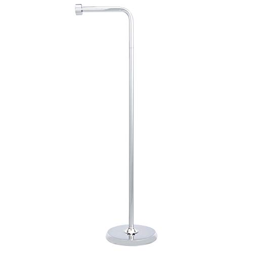 Amazon Basics Free Standing Bathroom Toilet Paper Holder Stand - Ch