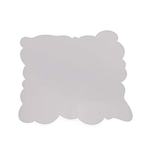 Hothap Schablonen Wolke für Malerei Lernen Wanddekoration DIY, 14x13cm