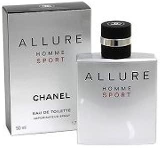 C H A N E L ALLURE HOMME SPORT EDT Spray 1.7 Oz. (50 ml) BRAND NEW IN BOX