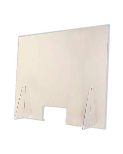 Pantalla Protección Mostrador 100x80cm - Fabricada