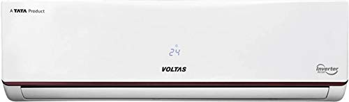 Voltas 1.2 Ton 5 Star Inverter Split AC (Copper Condenser, White)
