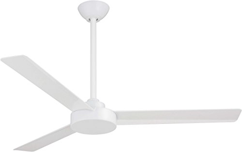 "Minka-Aire F524-WHF Roto 52"" Ceiling Fan with Wall Control, Flat White"