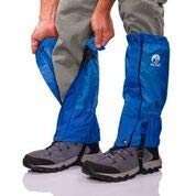 Pike Trail Leg Gaiters – Waterproof and Adjustable Snow Boot Gaiters for Hiking, Walking, Hunting, Mountain Climbing and Snowshoeing (Midnight Blue)
