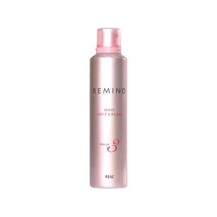 伝説乳製品ペデスタル【X5個セット】 リアル化学 レミノ ヘアソフトクリーム3 240g