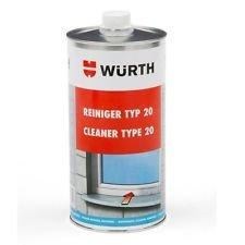 Bayram® Kunststoffreiniger Fenster Wuerth Kunststoff Reiniger PVC 1 Liter+ Bayram® Zubehör