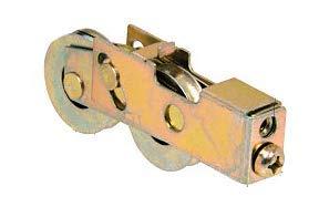 """CRL 1-1/2\"""" tandem Stahlglasschiebetür Walze mit 11/16\"""" breitem Gehäuse - d1988"""
