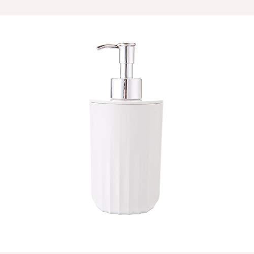 hanxiaoyishop Dispensador de jabón desinfectante de manos Botella para el hogar Esencial Prensa Tipo Loción Champú Gel de Ducha Simple y Práctico Baño Loción Botella Dispensador de jabón Baño