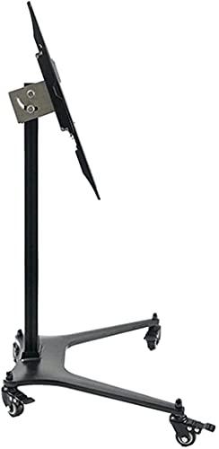 Soporte para TV Soporte de piso para TV con soporte para televisores de 32-55 pulgadas Soporte de TV con ruedas ajustable en altura Carrito de soporte para TV móvil, con capacidad para pantallas de 70