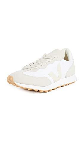 Veja Rio Branco Herren-Sneaker, Weiß (Weiß/Pierre/Natur.), 41 EU