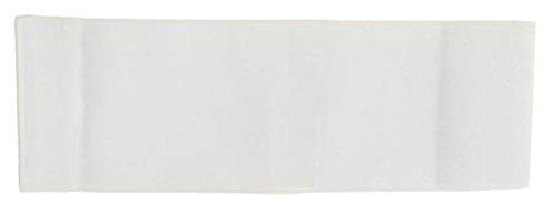 Unbekannt größenverstellbare Armbinde bedruckt mit IHREM INDIVIDUELLEM TEXT (XXXL 35-46 cm) (Farbe weiss)