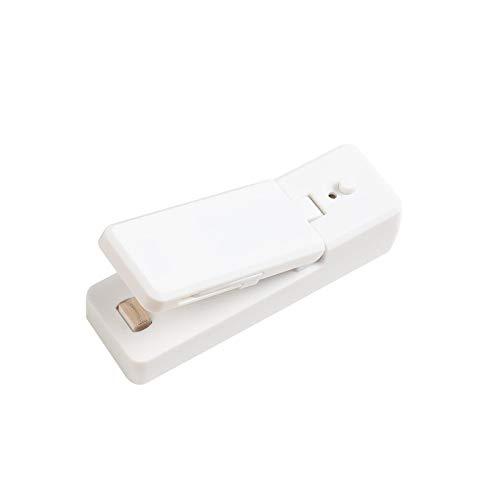 Mini Sigillante per Sacchetti , Termosigillatore Elettrico A Carica USB, Sigillatrice Portatile , Mini Macchina Termosaldatrice A Pressione Manuale Sigillatore A Impulsi Sigillante per Sacchetti