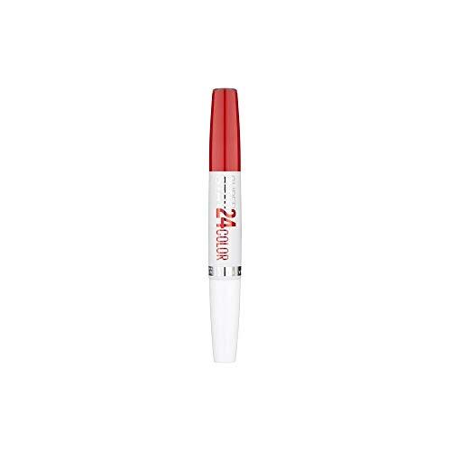 Color de labios Superstay de 24H de Maybelline Blazing red 515
