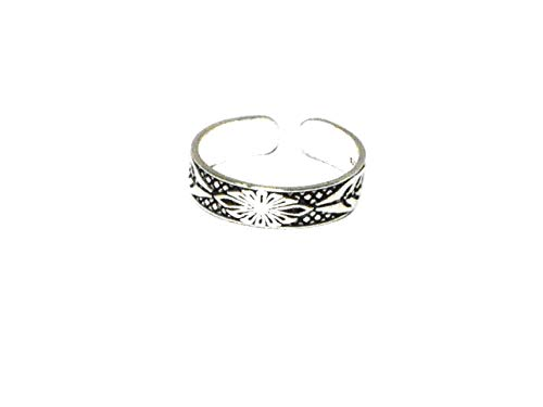 ADJUSTABLE 925 Sterling Silver TOE Ring (TR30111714) - Gift Boxed