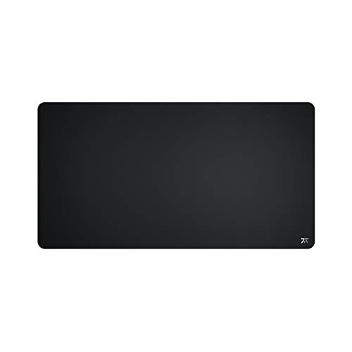 Fnatic Dash XD Extended Pro Gaming Mouse Mat for Esports with Stitched Edges and Anti-Slip Rubber Base, Fast Surface (Size XL Desktop, Black, Hybrid Fabric) - 950 x 500 x 3mm