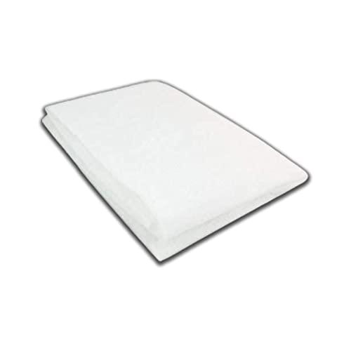 Virsus Filtro per cappa di colore bianco 1 pezzo aspirante universale, adatto a tutte le cappe da cucina, assorbe gli odori, antigrasso e vapore, misura 45x90cm