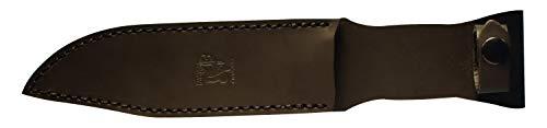 Eickhorn 825237 Glatt Outdoormesser | Wolverine Professional | Klingenlänge: 17,6cm, Edelstahl