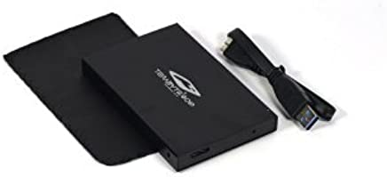 Terabyte 2.5 Inch USB 3.0 Hard Drive Disk HDD External Enclosure Case (Multicolor)
