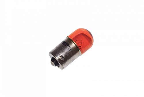 Gloeilamp/lamp 12 V 10 W norm R10 W fitting BA15S standaard schaal oranje (knipperend) – flosser