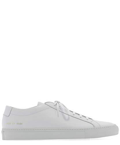 COMMON PROJECTS Luxury Fashion Herren 15280506 Weiss Leder Sneakers | Jahreszeit Permanent