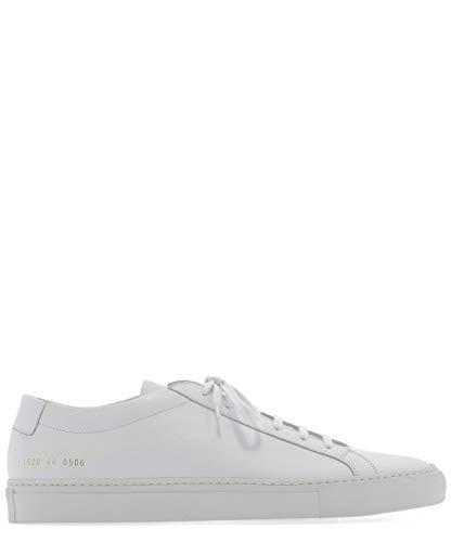 COMMON PROJECTS Luxury Fashion Herren 15280506 Weiss Leder Sneakers | Jahreszeit Permanent