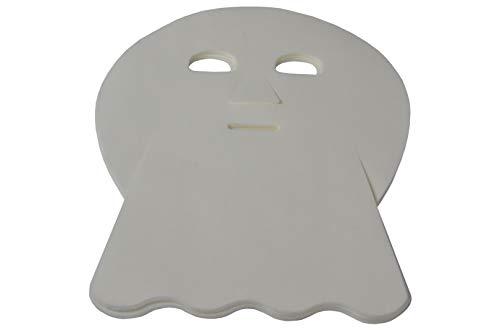 AMF Life Gesichtsmaske für Kosmetikbehandlungen, Tuchmaske für Gesicht und Hals, Vlies-Maske für Kosmetikstudios, 50Stk.