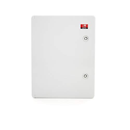 KOOP Elektro ABS Verteilerschrank Schaltschrank mit Verriegelung Tür mit umlaufender Dichtung 300x400x170, Industriegehäuse IP65 mit verzinkter Montageplatte