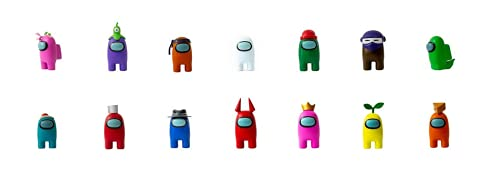 Bizak-  Figura Among Us En Caja Mod. Sdos,  Color (64112012)