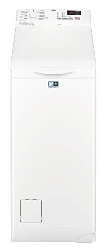 AEG L6TB40260 - Lavadora (Independiente, Carga superior, Blanco, Botones, Giratorio, Arriba, LCD)
