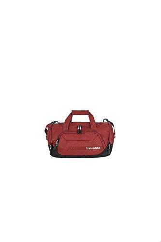 travelite Reisetasche Größe S Handgepäck, Gepäck Serie KICK OFF: Praktische kleine Reisetasche für Urlaub und Sport, 006913-10, 40 cm, 23 Liter, rot