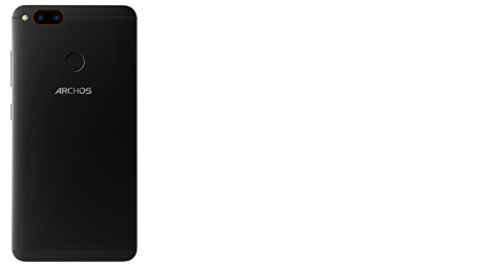 Archos Diamond Alpha Smartphone débloqué 4G (Ecran : 5,2 pouces - 64 Go - 4 Go RAM - Double Micro-SIM - Android 6.0 Marshmallow) Noir