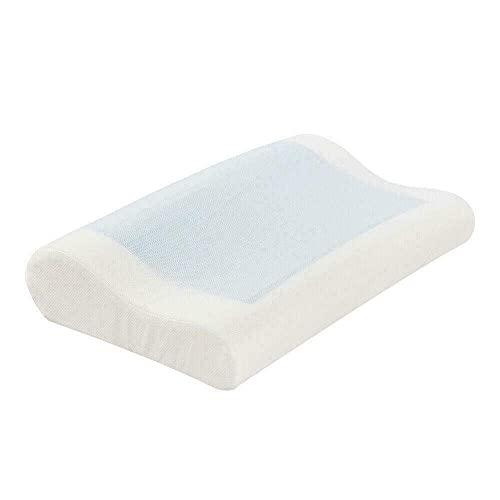 YLDXP Almohada de Espuma viscoelástica de Contorno de 20'x 12' con Soporte de enfriamiento para Dormir Fresco