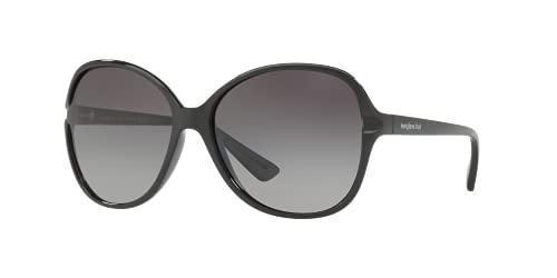 Sunglass Hut Collection Sunglasses Black Frame, Polarized Grey Gradient Lenses, 60MM