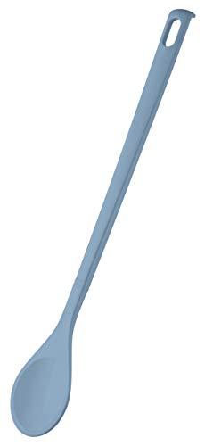 ZENKER 27187 Kochlöffel rund Candy, Rührlöffel für beschichtete Töpfe und Pfannen (Farbe: Eisblau), Menge: 1 Stück